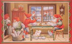 Joulutouhua sisällä ja ulkona