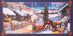 Erik Forsman sinipohjainen joulujuliste