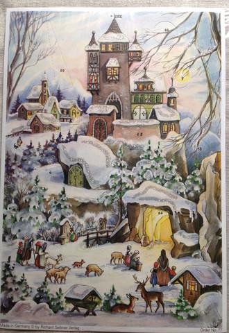 Joulukalenteri 77
