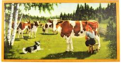 Lehmäjuliste