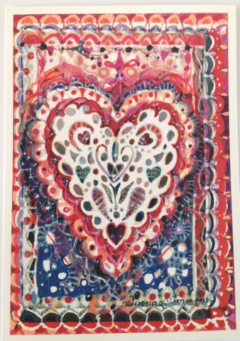 Värikäs sydän