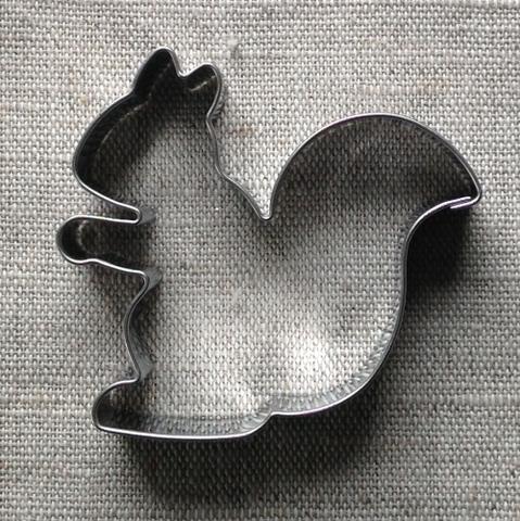 Piparkakkumuotti orava