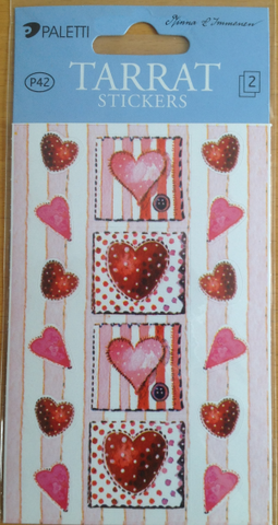 Tarra-arkki sydämiä