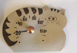 Saunan löylymittari vaalea kissa