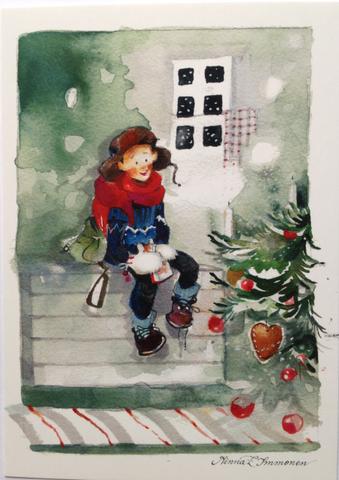 Joulukorttipoika