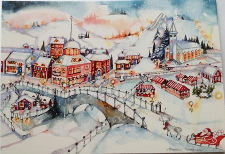 Joulukalenterimiljöö