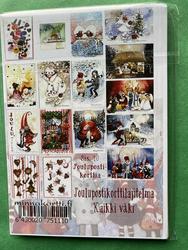Kaikki väki, 16 kpl nippu joulukortteja