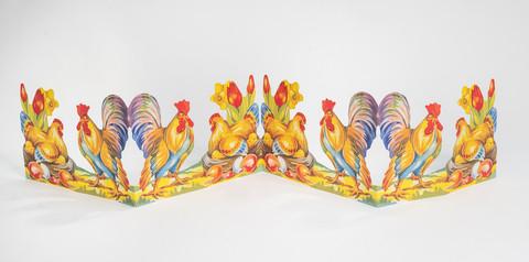 Kukko ja kana pääsiäistunnelmissa