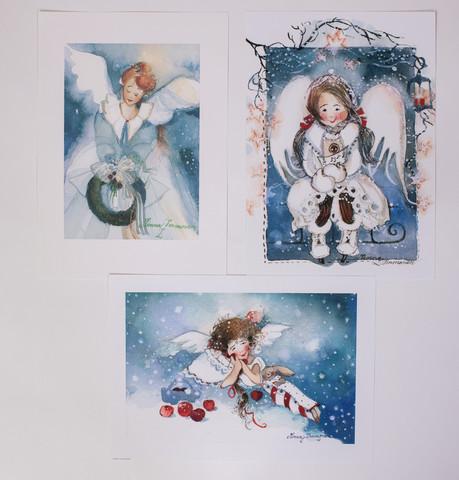 Sininen enkelisarja A4