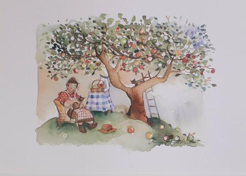 Omenapuun alla A4