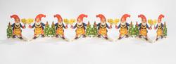 Tonttu-kuusi-kynttilä haitari