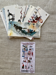 Pakettikorttipaketti Rauhallista joulua