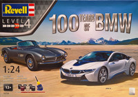 100 Years of BMW (BMW 507 & BMW i8) 1:24