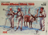 Finnish Riflemen (Winter 1940) 1:35