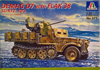 Demag D7 with Flak 38, 1:35