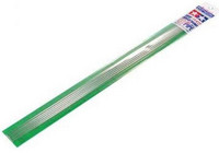 Plastic Beams 3mm Pipe (clear) 6kpl x 40cm