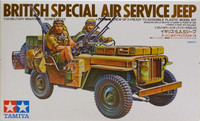 British Special Air Service Jeep 1:35