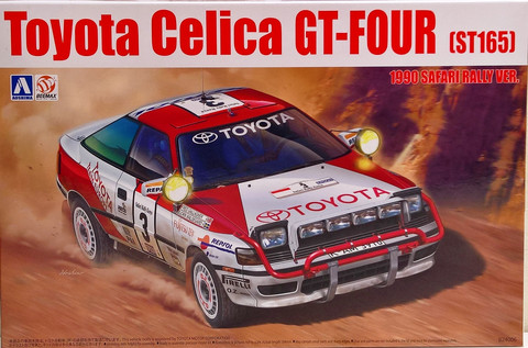 Toyota Celica GT-FOUR (ST165) '90 Safari Rally 1:24
