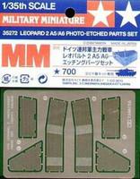 Leopard 2 A5/A6 Photo-Etched Parts 1:35 (pidemmällä toimitusajalla)