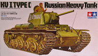 Russian Heavy Tank KV-I (type-C) 1:35