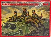 Soviet Armoured Carrier Riders (1979-1991) 1:35