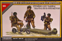 WWII British Paratroopers with Welbikes 1:35