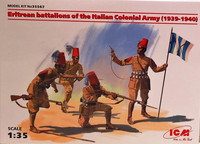 Eritrean Battalions of the Italian Colonial Army '39-'40, 1:35