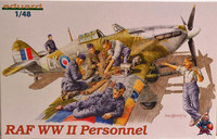 RAF WWII Personnel 1:48