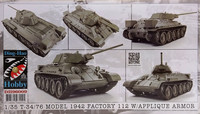 T3476 Model 1942 Factory 112 with Applique Armor 1:35