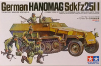 German Hanomag Sd.Kfz. 251/1, 1:35