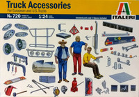 Truck Accessories for European and U.S. Trucks 1:24