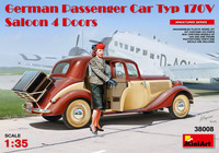 German Passenger Car Typ 170V Saloon 4 Doors 1:35