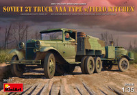Soviet 2T Truck AAA Type with Field Kitchen 1:35