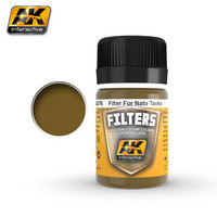 Enamel Filter Dark Brown for NATO Tanks 35ml