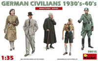 German Civilians 1930's - 40's, 1:35