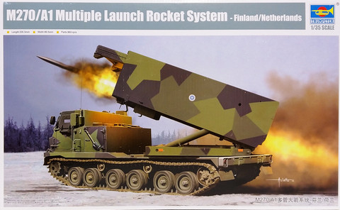 M270/A1 Multiple Launch Rocket System (Finland), 1:35