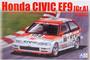 Honda Civic EF9 (Gr.A) '91 Idemitsu, 1:24 (pidemmällä toimitusajalla)
