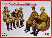 Soviet Army Servicemen, 1:35
