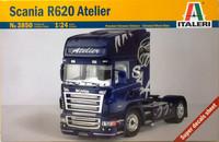 Scania R620 Atelier, 1:24 (pidemmällä toimitusajalla)