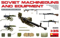 Soviet Machineguns and Equipment, 1:35