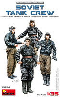 Soviet Tank Crew (for Flame Tanks & Heavy Tanks), 1:35