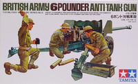 British Army 6 Pounder Anti-Tank Gun, 1:35