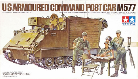 U.S. Armoured Command Post Car M577, 1:35