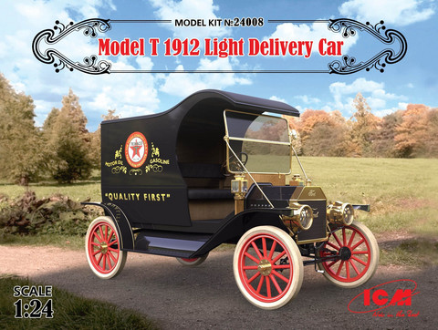 Model T 1912 Light Delivery Car, 1:24