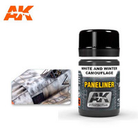Paneliner White And Winter Camouflage (enamel) 35ml
