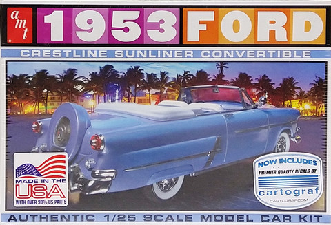 Ford '53 Convertible, 1:25