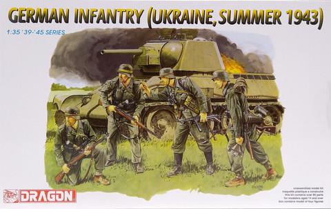 German Infantry (Ukraine, Summer 1943), 1:35
