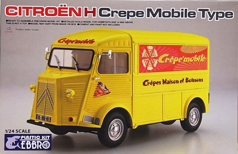 Citroën H Crepe Mobile Type, 1:24