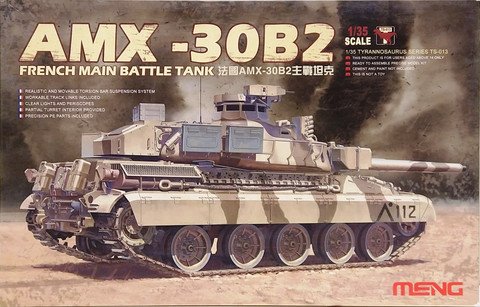 French Main Battle Tank AMX-30B2, 1:35