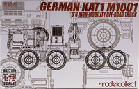 German KAT1 M1001 8x8 High Mobility Off-Road Truck, 1:72